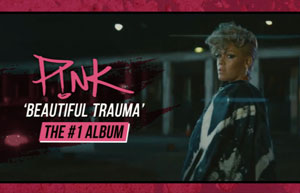 P!NK - Beautiful Trauma NZ TVC